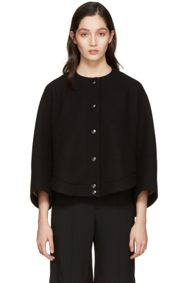 Chloé - Black Cropped Jacket