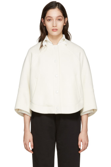 Chloé - Ivory Cropped Jacket