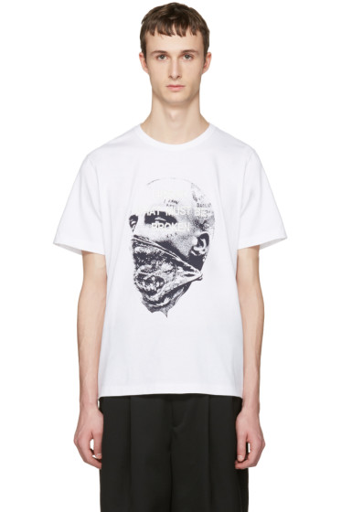 Juun.J - White 'Break What Must Be Broken' T-Shirt