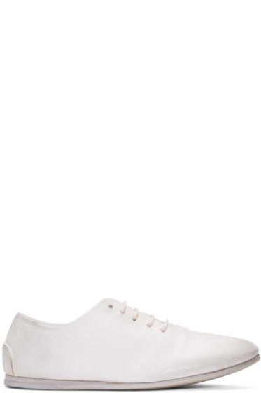 Marsèll - White Dritta Oxfords