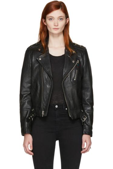 BLK DNM - Black Classic 1 Biker Jacket
