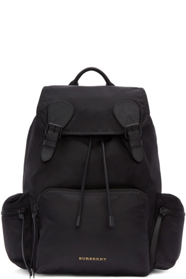 Burberry - Black Nylon Backpack