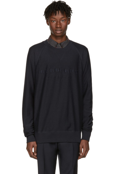 Burberry - Navy Coleford Pullover