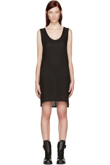 Ann Demeulemeester - Black Short Thelma Tank Dress