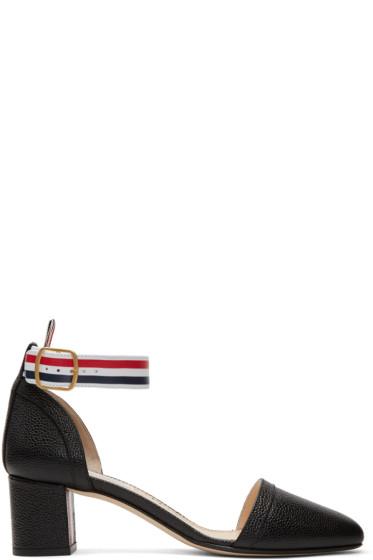 Thom Browne - Black D'Orsay Heels