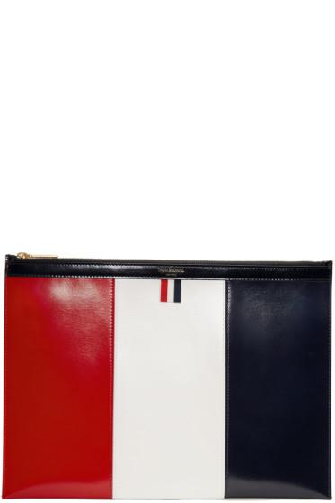Thom Browne - Tricolor Medium Document Holder