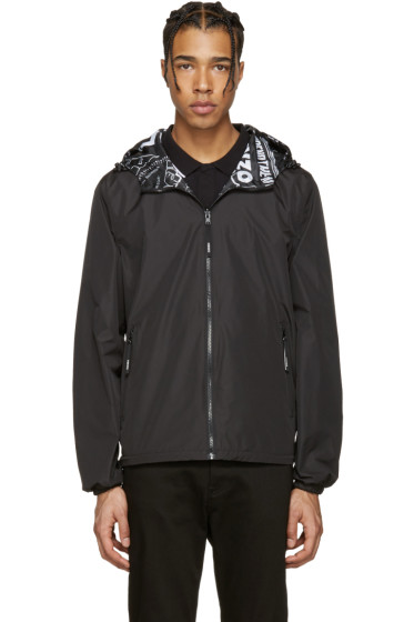 Kenzo - Reversible Black Hooded Jacket