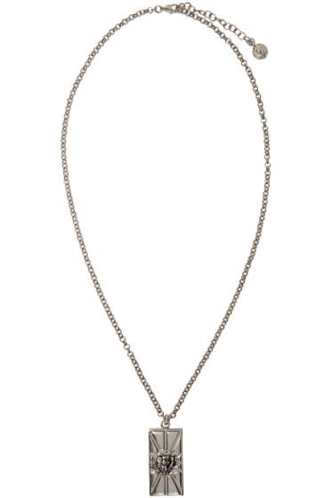 Versus - Silver Lion Necklace