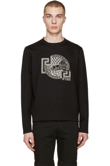 Versus - Black Sitting Lion Pullover