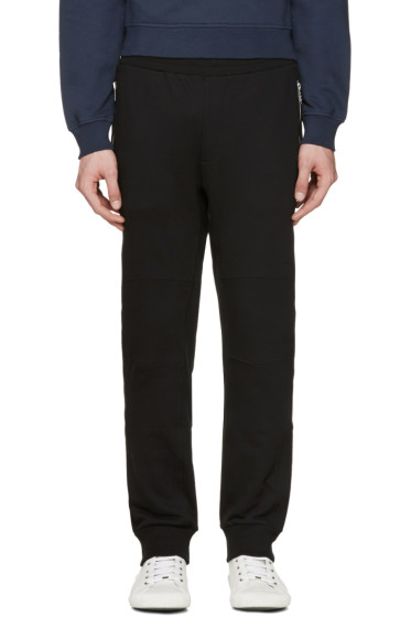 Versace - Black Zippered Lounge Pants