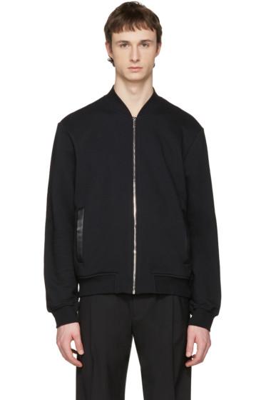 Versace - Black Medusa Zip-Up Sweater