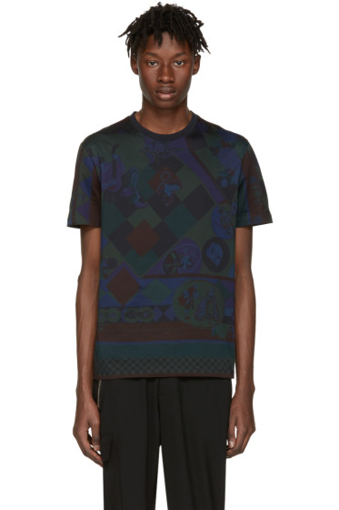 Versace - Navy Mask T-Shirt