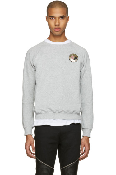 Saint Laurent - Grey 'Never Say Never' Pullover