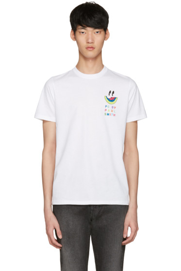 PS by Paul Smith - White Watermelon T-Shirt