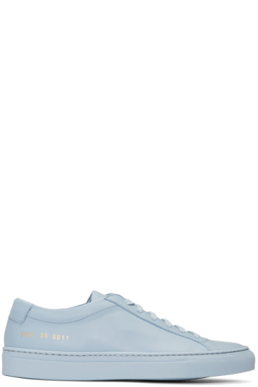 Woman by Common Projects - Blue Original Achilles Low Sneakers