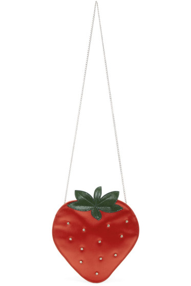 Charlotte Olympia - Red Strawberry Pouch
