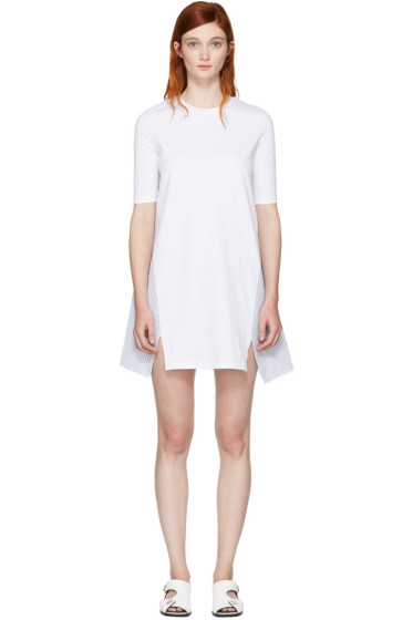 Stella McCartney - White Combo T-Shirt Dress