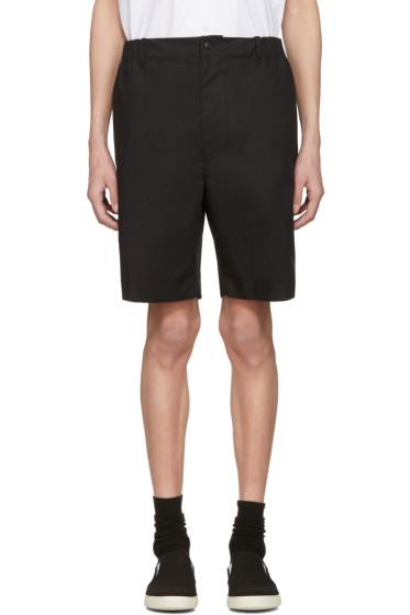 Stella McCartney - Black Wide Shorts