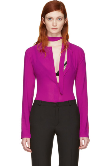Nina Ricci - Pink Bodysuit Shirt