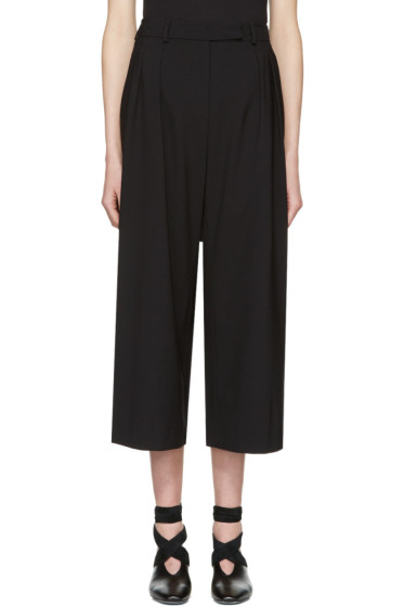 J.W. Anderson - Black High-Waisted Culottes