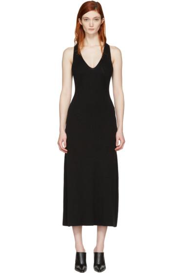 Calvin Klein Collection - Black Knit Escot Dress