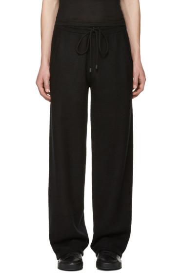 Calvin Klein Collection - Black Cashmere Redel Lounge Pants