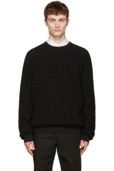 Calvin Klein Collection - ブラック テクスチャ セーター