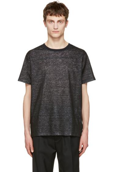 Calvin Klein Collection - ブラック ロベル T シャツ