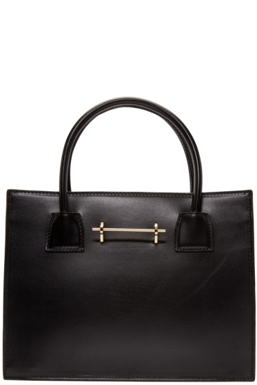 M2Malletier - Black Leather Mini Tote