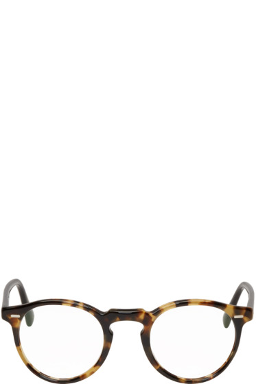 Oliver Peoples - Tortoiseshell Gregory Peck Glasses