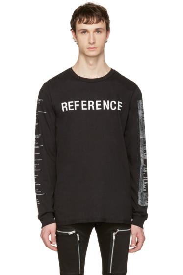 Yang Li - ブラック Reference T シャツ
