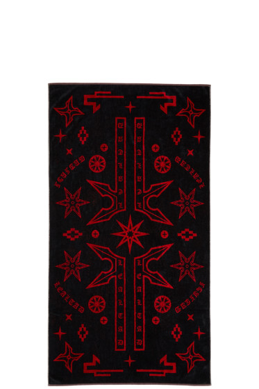 Marcelo Burlon County of Milan - Black Manuel Towel
