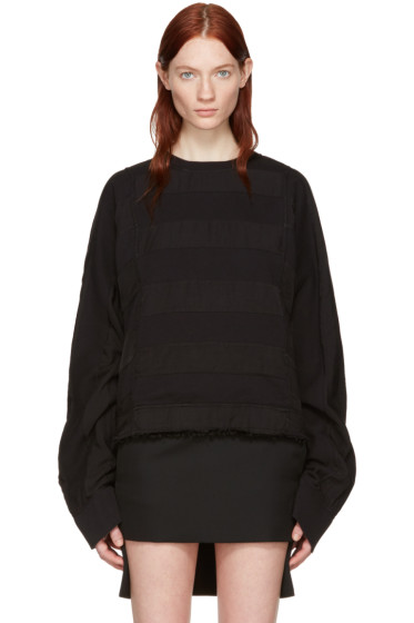 Haider Ackermann - Black Polonium Pullover