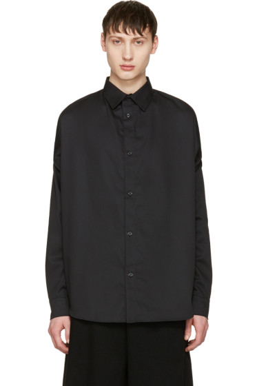 Hood by Air - Black 'Church Girl' Shirt