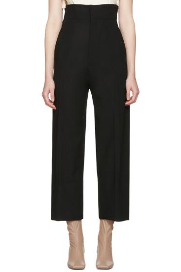 Jacquemus - Black 'Le Pantalon Santon' Trousers