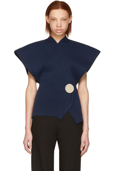 Jacquemus - Navy 'Le Cardigan' Knit Sweater