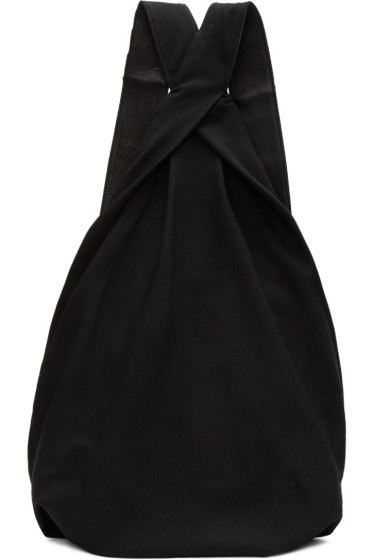 Yohji Yamamoto - Black Drape Backpack