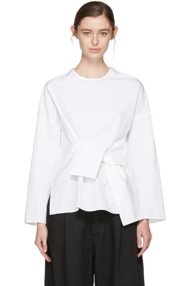 Studio Nicholson - White Tulio Noisy Shirt