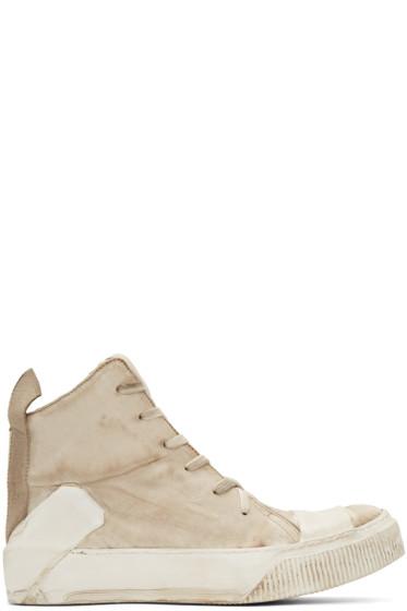 Boris Bidjan Saberi - Off-White Bamba 1 High-Top Sneakers
