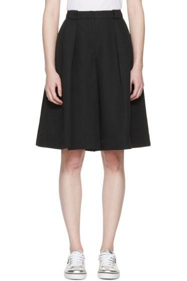 Jil Sander Navy - Black Oversized Culottes