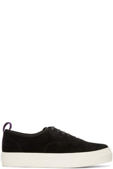 Eytys - Black Suede Mother Sneakers