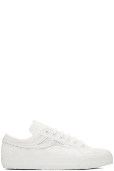 Gosha Rubchinskiy - White Superga Sport Edition Sneakers