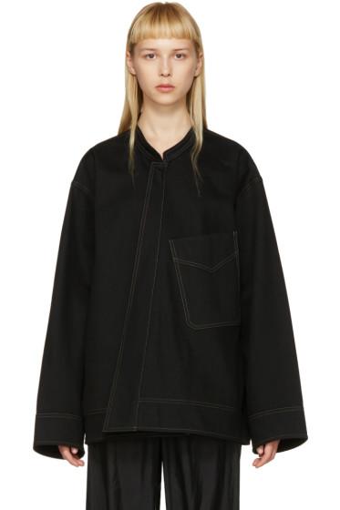 Lemaire - Black Vareuse Jacket