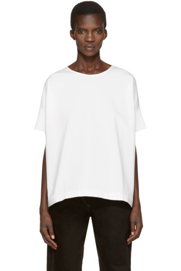 Lemaire - White Loose T-Shirt