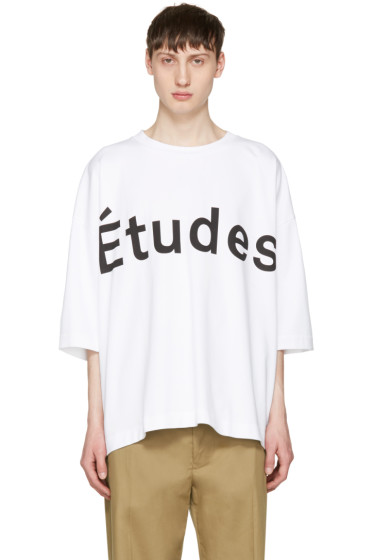Etudes - White Desert Logo T-Shirt