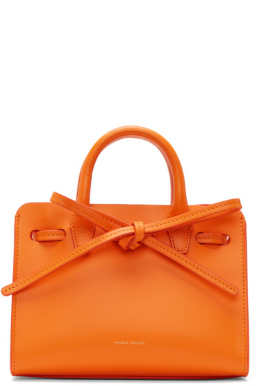 Mansur Gavriel - Orange Mini Mini Sun Tote