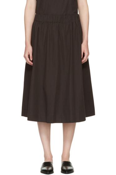 Edit - Black Elasticized Skirt
