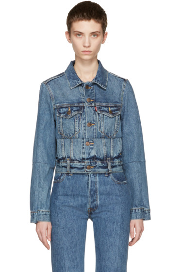Vetements - Blue Levi's Edition Reworked Denim Jacket