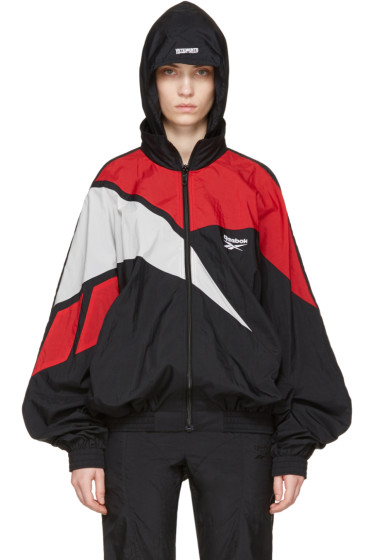Vetements - Multicolor Reebok Edition Classic Track Jacket