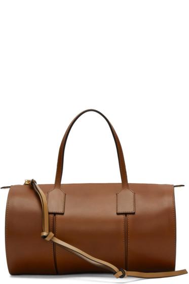 Loewe - Tan Small Barrel Bag